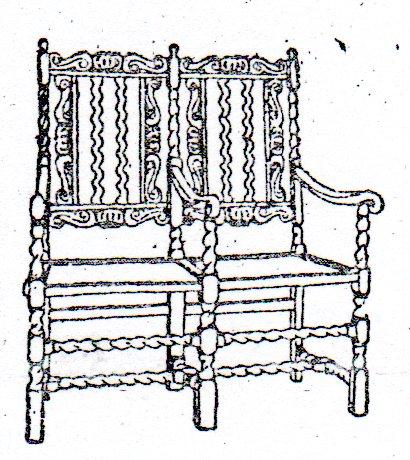 los muebles barrocos son de grandes dimensiones decorados con mrmoles los colores son como no el oro la plata azul brillante y verde